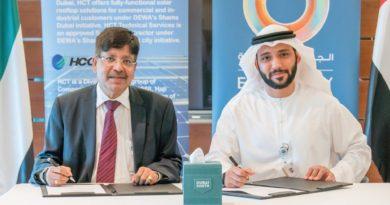 : الإعلان عن محطة طاقة شمسية بسعة 2 ميجاواط في دبي الجنوب
