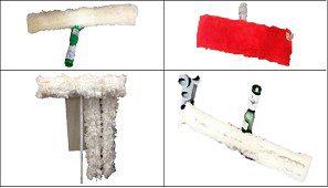 بعض أنواع المماسح الممكن استخدامها في التنظيف الجاف