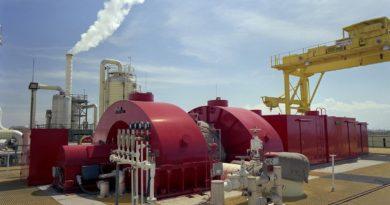 محطة كهربائية بالطاقة الحرارية الجوفية