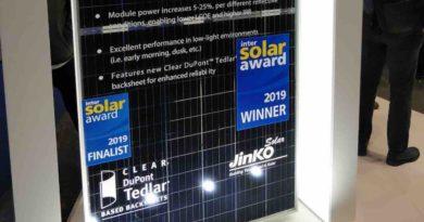 أجدد الألواح الشمسية التي تم الإعلان عنها في معرض Intersolar 2019