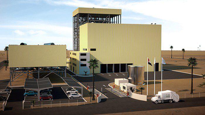 البدء بأعمال إنشاء محطة تحويل النفايات إلى طاقة في الشارقة