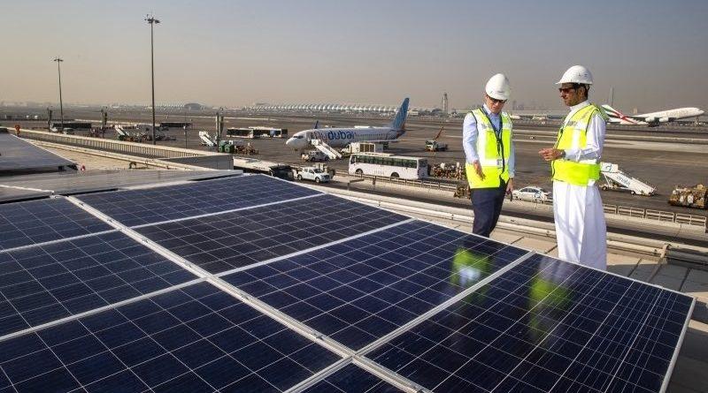 مطار دبي يدشن محطة طاقة شمسية بقدرة 5 ميجاواط بالتعاون مع الإتحاد إسكو
