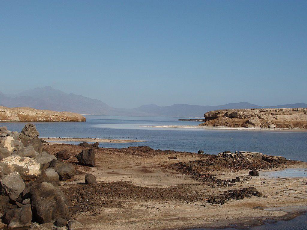 بحيرة عسل في جيبوتي