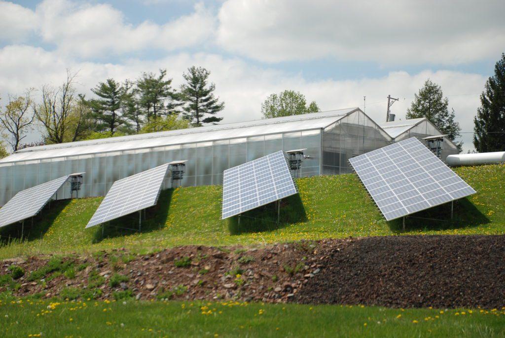 تغذية البيوت الدفئية باستخدام الألواح الكهروضوئية
