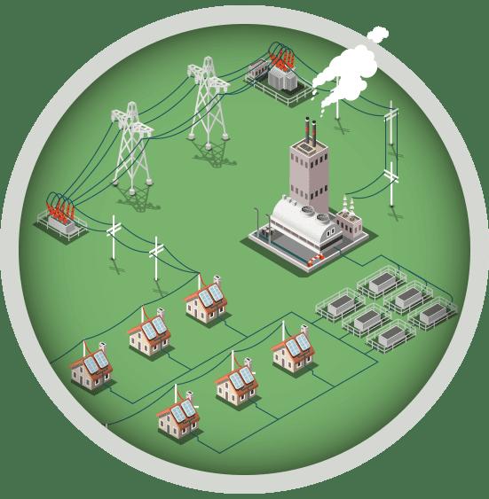 انشاء محطة بطاريات لتخزين الفائض من الطاقة