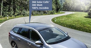 سيارة فرانهوفر ذات الخلايا الكهروضوئية المخفية.