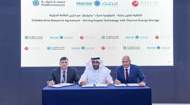 مشروع تجريبي في أبو ظبي في مجال توليد الطاقة النظيفة مع تخزين الطاقة الحرارية