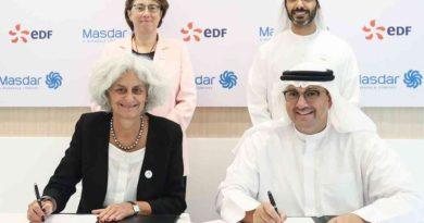 تأسيس شركة لخدمات الطاقة ما بين مصدر الإماراتية و EDF الفرنسية