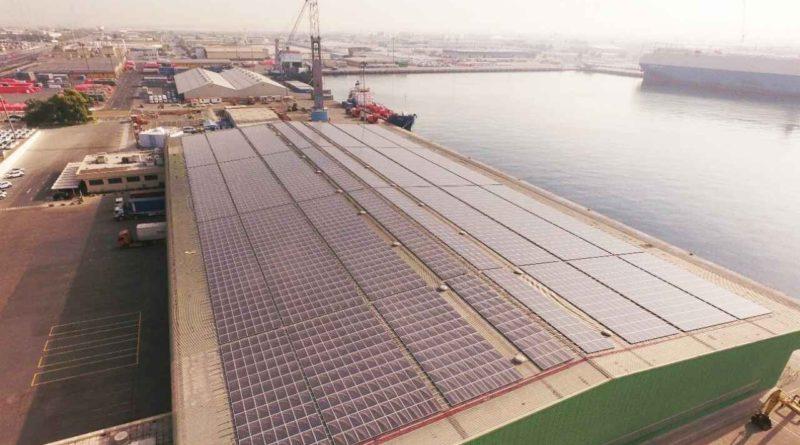 إكمال أكبر محطة طاقة شمسية موزعة في موانئ دبي العالمية بقدرة 25.8 ميجاواط
