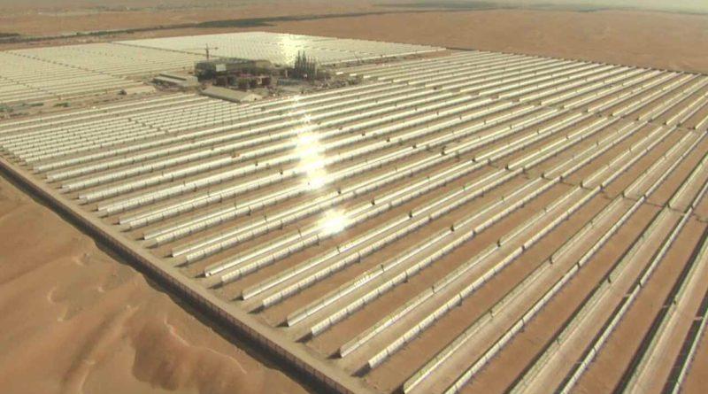 الامارات: حريق في محطة شمس 1 للطاقة الشمسية المركزة CSP في أبو ظبي