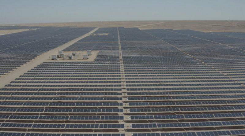 محطة الريشة للطاقة الشمسية في الأردن