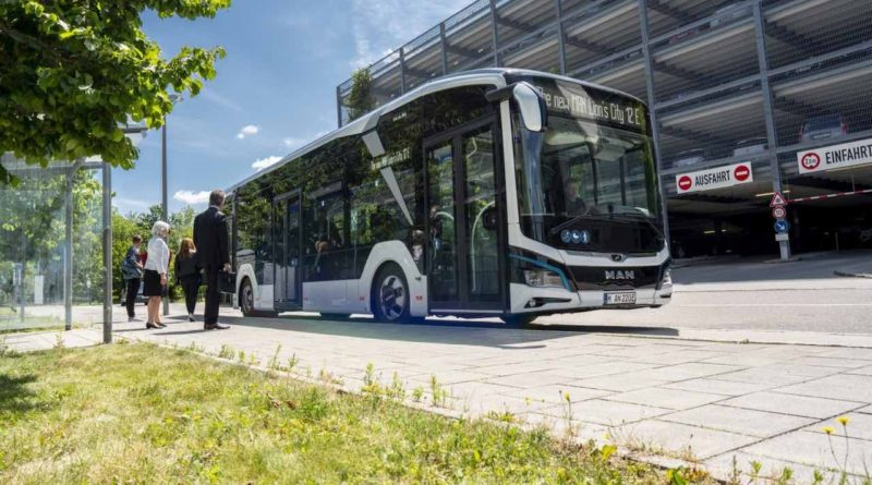 شركة MAN الألمانية تحصل على طلبية حافلات كهربائية من طراز Lion's City E