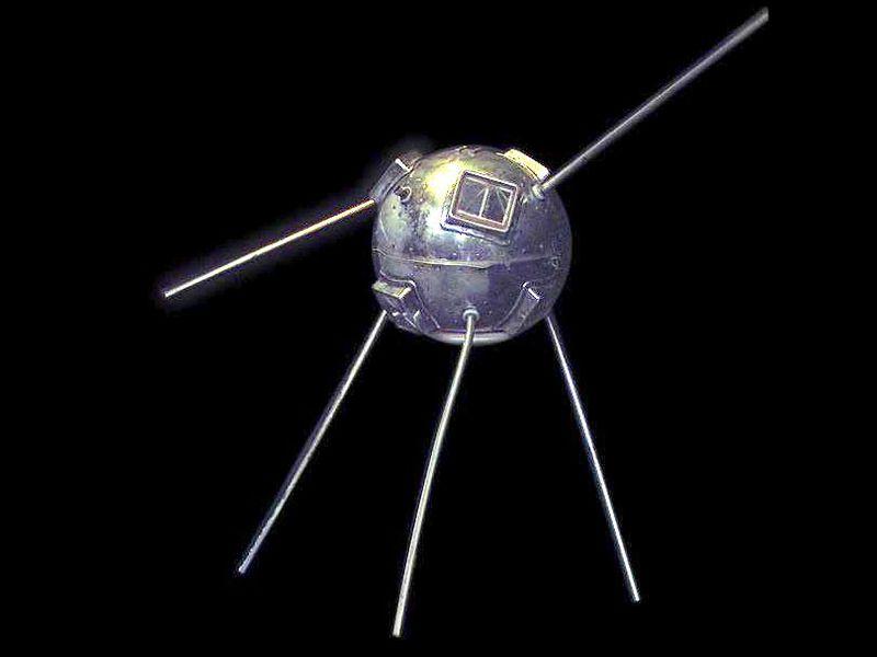 تاريخ الطاقة الشمسية - قمر فانغارد 1