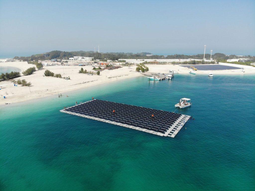 Floating Solar المحطة العائمة