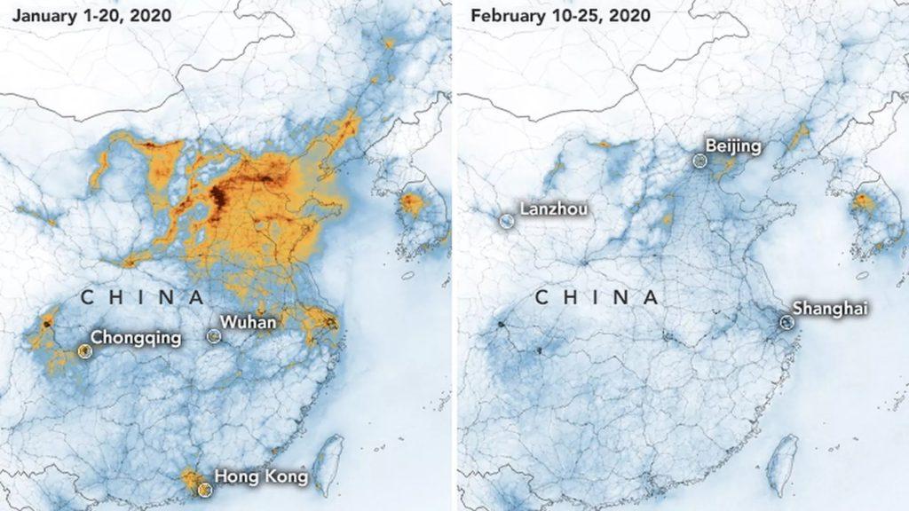 اضمحلال ثقب الأوزون فوق الصين