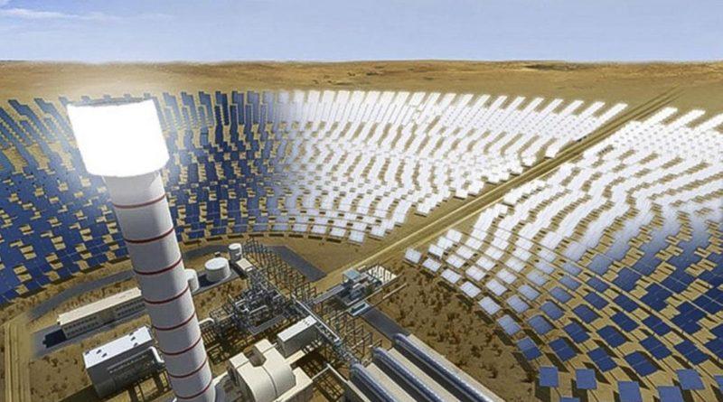 المرحلة الرابعة من مجمع محمد بن راشد للطاقة الشمسية
