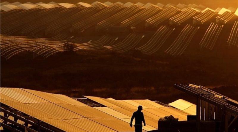 أكبر محطة طاقة شمسية في أوروبا