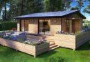 منازل خشبية