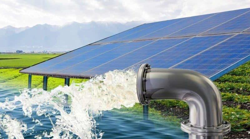 أنظمة الضخ بالطاقة الشمسية