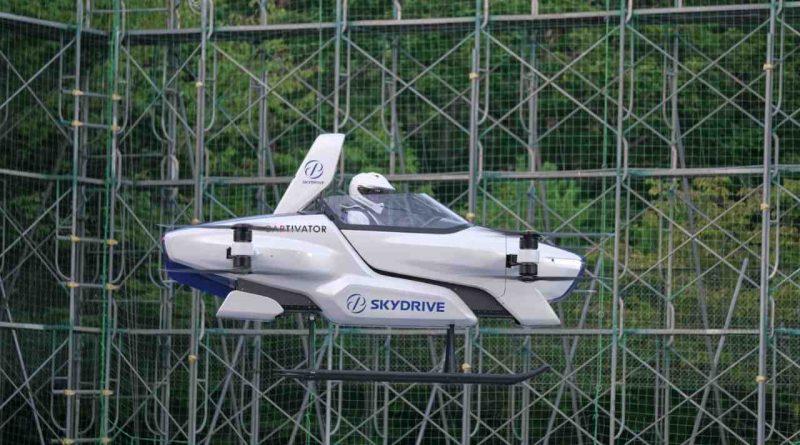 السيارات الكهربائية الطائرة
