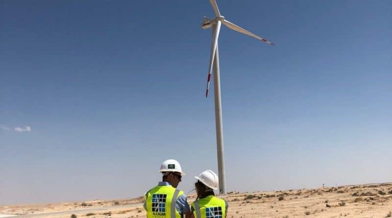 بدء التشغيل التجاري لمزرعة الشوبك لطاقة الرياح