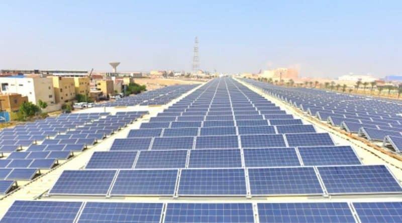 محطة شمسية على سطح مصنع شركة كوكاكولا
