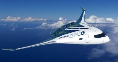 طائرات ايرباص الهيدروجينية