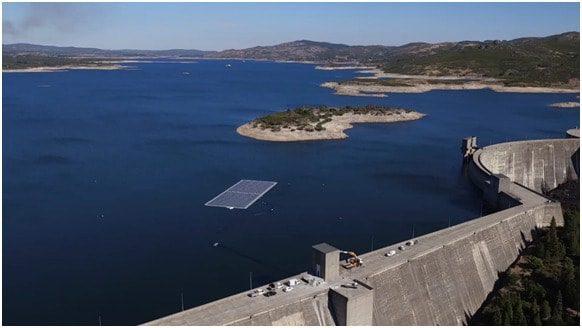 مشروع EDP التجريبي لخزان Alto Rabagão، البرتغال. حقوق الصورة: Ciel et Terre International.