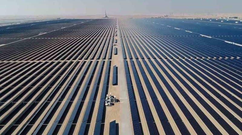 الانتهاء من تنفيذ محطة ضخ المياه في مجمع محمد بن راشد آل مكتوم للطاقة الشمسية