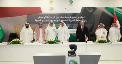 مشروع الربط الكهربائي بين شبكتي السعودية ومصر