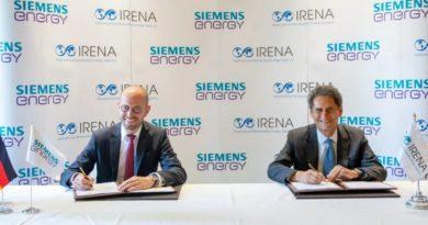 IRENA وSiemens Energy