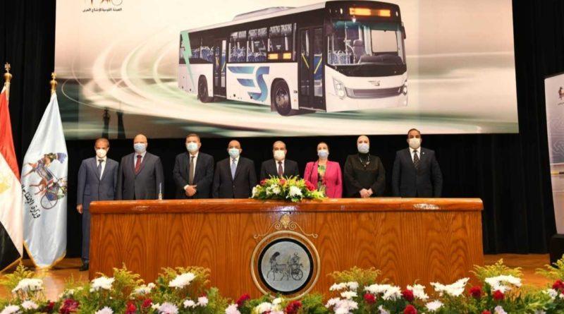 أول حافلة كهربائية مصرية «سيتي باس-SETIBUS»