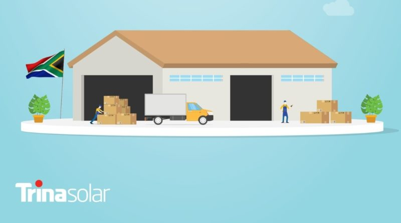 ترينا سولار تفتتح مُنشأة لتوزيع منتجات الطاقة الشمسية في جنوب أفريقيا