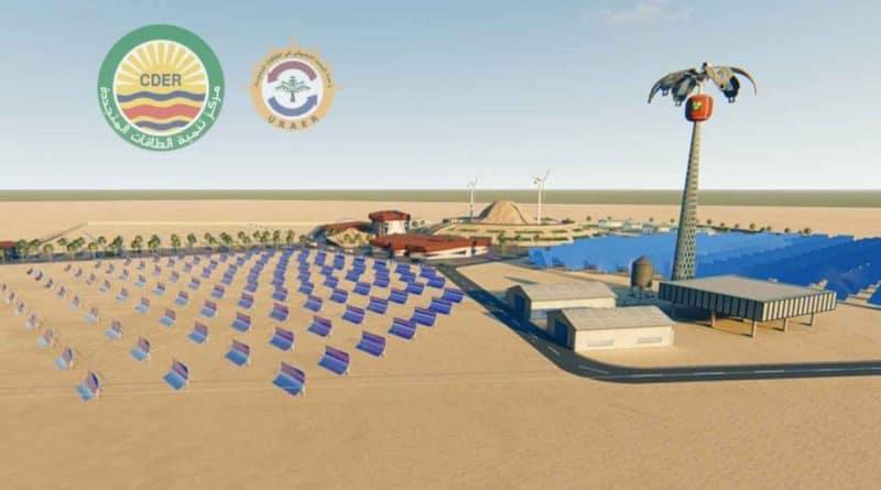 مشروع نخلة 1 لتوليد الطاقة الكهربائية من التطبيقات المختلفة للطاقة الشمسية