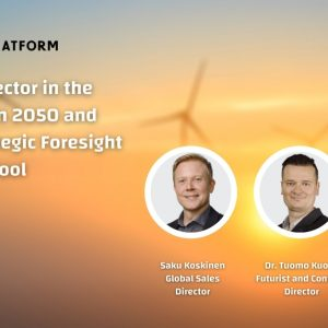 The energy sector in the Middle East in 2050 and beyond: Strategic Foresight as powerful tool