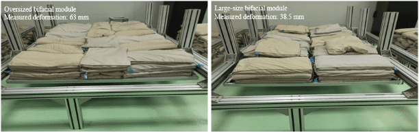 Load capacity of bifacial module LONGi