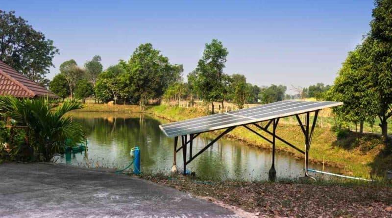 الري بالطاقة الشمسية في السودان
