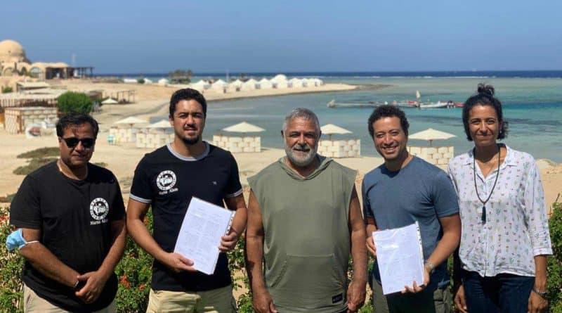 أول محطة لتحلية مياه البحر في مرسى علم