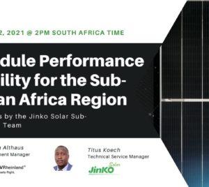 high power solar modules in africa